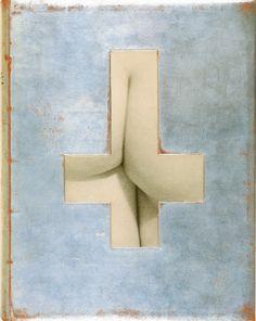 ervehea: Man Ray, Dekorativer Einband (nach Marquis de Sades Die 120 Tage von Sodom), um 1935