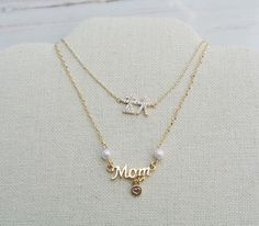 These will ship on time for Mother's Day!  Use coupon code: LOVEMOM20 for a 20% off everything!! No minimum required! #mothersday #giftideas #momnecklace #boygirl #dainty #jotd #gold #handmade #jewelrygram #etsy #etsyshop #shopsmall #handmadewithlove #jewelry