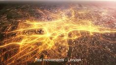 422 South Data Visualization Group - Taxi movement in London  Still