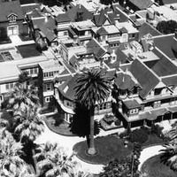 Winchester Mystery House - Eccentric widow Sarah Winchester thought that if she kept adding to her mansion it would keep the wrathful ghosts of Winchester rifle victims at bay. 160 rooms later...in San Jose, California: