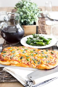 Summer Vegetable Piz