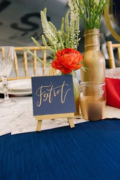 Patriotic Military Wedding Inspiration / Tidewater and Tulle | A Virginia Wedding Blog