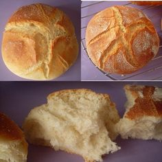 Madre del amor hermoso, como os describo yo ahora el sabor de este pan…………… es que no tengo palabras, indescriptible, ligeramente dulce, pero sin llegar a ser un bollo… Sweets Recipes, Bread Recipes, Pan Bread, Our Daily Bread, Artisan Bread, Kfc, Empanadas, Food And Drink, Appetizers