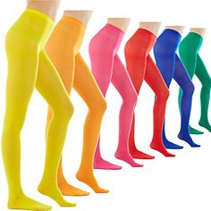 40002a59353b3 Women s 80 Denier Semi Opaque Solid Color Footed Pantyhose Tights or -- Be  sure to check out this awesome item.