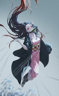 Kamado Nezuko - Kimetsu no Yaiba - Image - Zerochan Anime Image Board Demon Manga, Manga Anime, Art Manga, Fanarts Anime, Otaku Anime, Anime Characters, Demon Slayer, Slayer Anime, Kawaii Anime Girl