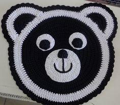 Tapete Ursinho em Crochê. / Carpet Bear Crochet.                                                                                                                                                                                 Mais