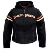 Harley-Davidson® Womens Miss Enthusiast 3 In 1 Casual Nylon Jacket
