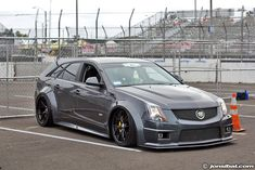 Cadillac CTS-V on HRE