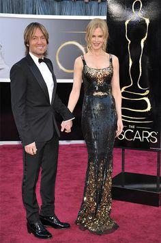 Keith Urban & Nicole Kidman-85th Academy Awards - Arrivals