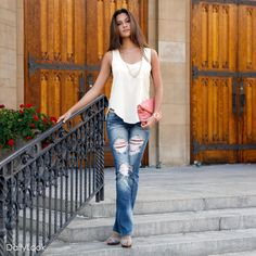 Check out Blue Jean Baby Look by Zinga, Nine Bird and Machine  at DailyLook