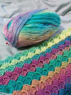 Corner to corner crochet pattern C2C ~ Free Patterns