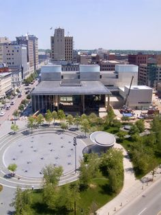 Grand Rapids Art Museum, Grand Rapids Michigan LEED Gold Certified