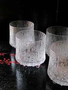Iittala Glasses Ultima Thule by Tapio Wirkkala by sinbadssister Finland, Vintage Shops, Crystals, The Originals, Glasses, Etsy, Design, Eyewear, Eyeglasses
