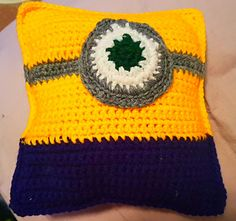 Minion Rag-doll/ Pillow - free crochet pattern by Jaime Alice.