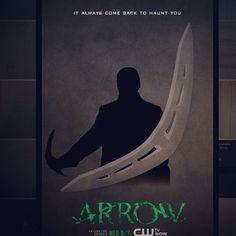 Cw arrow season 3 minimalist arrow (captain boomerang) Arrow Season 3, Captain Boomerang, Minimalist, Seasons, Random, Poster, Painting, Art, Art Background