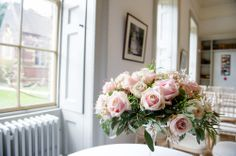 Wedding Flowers in the Drawing Rooms, by Becky Male