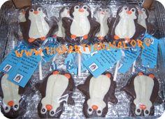 penguin rice krispie treats!