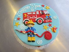 Fireman Sam birthday Cake by CAKE Amsterdam - Cakes by ZOBOT, via Flickr