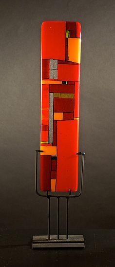 Windows Red: Meg Branzetti, Vicky Kokolski: Art Glass Sculpture   Artful Home