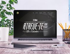 "Check out new work on my @Behance portfolio: ""Atreve-te 2016""…"