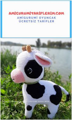 We share the Amigurumi Buzu pattern for free. You can visit our site to reach this pattern and more. We share the Amigurumi Buzu pattern for free. You can visit our site to reach this pattern and more. Crochet Animal Patterns, Stuffed Animal Patterns, Crochet Patterns Amigurumi, Baby Knitting Patterns, Crochet Animals, Crochet Cow, Crochet Dolls, Free Crochet, Crochet Projects