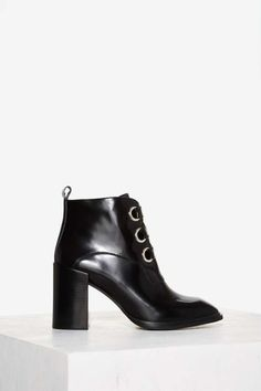 Jeffrey Campbell Emporia Box Leather Boot | Shop Shoes at Nasty Gal!
