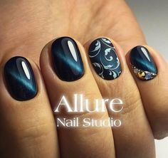 . Lace Nail Art, Lace Nails, Sexy Nails, Fun Nails, Manicure, Nail Polishes, Nagel Hacks, Short Nails Art, Oval Nails