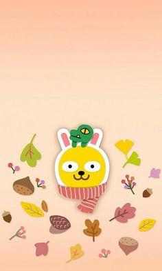 Apeach Kakao, Cute Lockscreens, Kakao Friends, K Wallpaper, Emoticon, Cute Designs, Coloring Books, Print Patterns, Pikachu