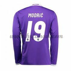 Real Madrid Nogometni Dresovi 2016-17 Modric 19 Gostujući Dres Dugim Rukavima…