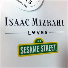 Isaac Mizrahi Designer Attribution Hang-Tag