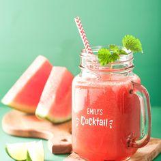 Personalised Mason Cocktail Jar