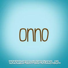 Onno (Voor meer inspiratie, en unieke geboortekaartjes kijk op www.heyboyheygirl.nl)