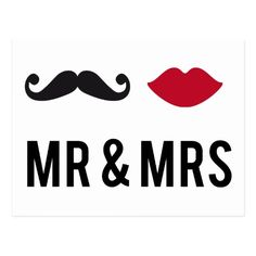 with mustache and red lips postcard created by beakraus. Flower Background Wallpaper, Flower Backgrounds, Dreamy Quotes, Creative Wall Decor, Couple Activities, Love Doodles, Wedding Postcard, Wedding Illustration, Silhouette Clip Art