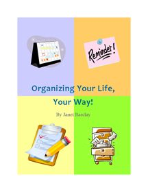 Organize based on your personality