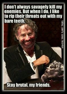 The walking dead. I can't even read this seriously without laughing hard.