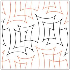 Parchment quilting pantograph pattern by Natalie Gorman Quilting Stitch Patterns, Machine Quilting Patterns, Quilt Stitching, Quilt Patterns, Quilting Ideas, Quilting Stencils, Longarm Quilting, Free Motion Quilting, Modern Quilting Designs
