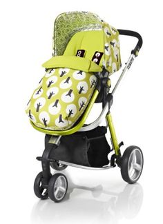 Cosatto Giggle 3-in-1 Combi Pushchair Treet for 0 - 36 Months (Green): Amazon.co.uk: Baby