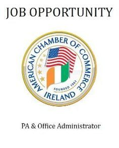American Chamber of Commerce Ireland - Page Not Found Office Administration, Chamber Of Commerce, American, Opportunity, Labor Positions, Cover, Ireland