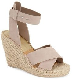 Women's Dolce Vita 'Nova' Espadrille Wedge Sandal, Size 9.5 M - Brown