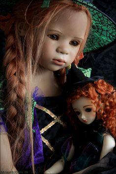 My little witches   by MiriamBJDolls