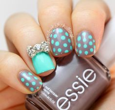 Find the full post here : http://www.thenailpolishchallenge.com/2013/12/born-pretty-store-rhinestone-studs.html Use this nail charms here :http://www.bornprettystore.com/1box-delicate-nail-sticker-rhinestones-decoration-acrylic-nail-decoration-p-8223.html Use the code XRL91 to get -10% discount.