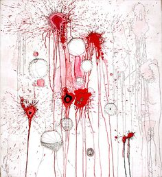 Nava Lubelski - Painting with Needle & Thread  http://weavingserenity.tumblr.com/post/48119360595/painting-with-needle-and-thread