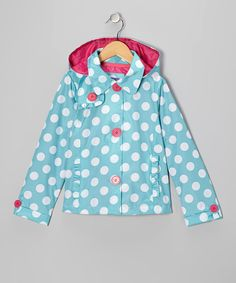 When it's drizzling and fun seems to be fizzling, just snatch up this stylish jacket. It's ready for fun whether the forecast is rain or shine with a light lining and removable hood. 100% polyesterMachine wash; tumble dryImported