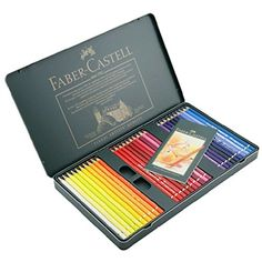 wBuyBuy.com : wBuyBuy.com : Global Shopping Platform Faber-Castel Polychromos Colored Pencil Set In Metal Tin, 60 Pieces FC110060