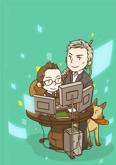 Wow, never seen any Person of Interest fanart. Lol I like this.