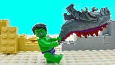 Lego Hulk VS Godzilla Superheroes Animation Here we have to episodes of lego hulk adventures. In first one hulk vs godzilla will fight. In secret laboratory . Lego Hulk, Lego Spiderman, Superhero, Lego Ninja Turtles, Teenage Mutant Ninja Turtles, First Hulk, Angry Hulk, Lego Iron Man, Lego For Kids
