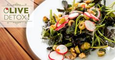 """It's called """"getting healthy after Christmas"""" but it's pronounced """"Olive Detox"""". Find out why with this stuffed olive vinaigrette."""