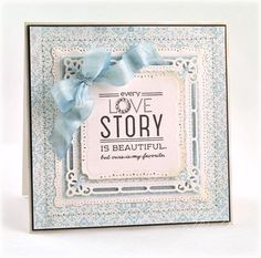 Ours Is My Favorite Card by Debbie Olson for Papertrey Ink (December 2012)