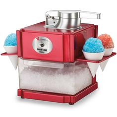 Snow Cone Maker - Cocktail : UK Bar Equipment Shop