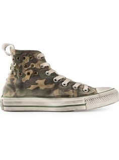 CONVERSE Camouflage Print Trainer